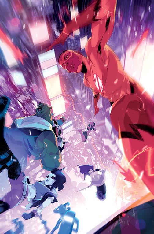 teen-titans_endless-winter-special-1-variant-di-meo DC Comics December 2020 Solicitations