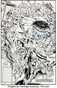 AmazingSpider-Man328ArtByMcFarlane-195x300 Amazing Spider-Man 129 Cover Art: $2,000,000 in Hype?