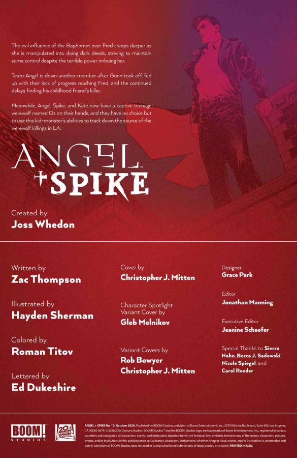 Angel_015_PRESS_2 ComicList Previews: ANGEL AND SPIKE #15