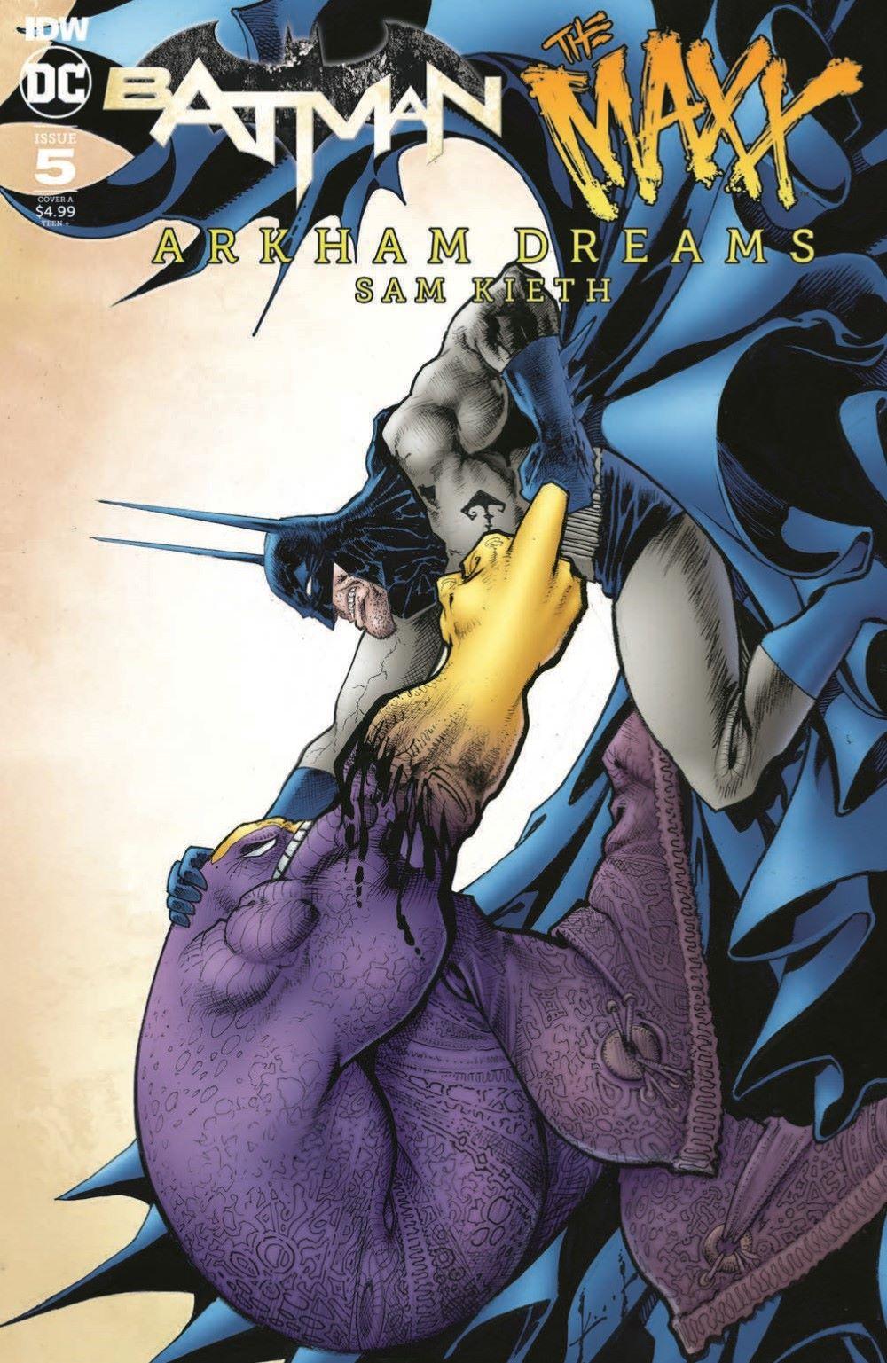 Batman-Maxx05_pr-1 ComicList Previews: BATMAN THE MAXX ARKHAM DREAMS #5