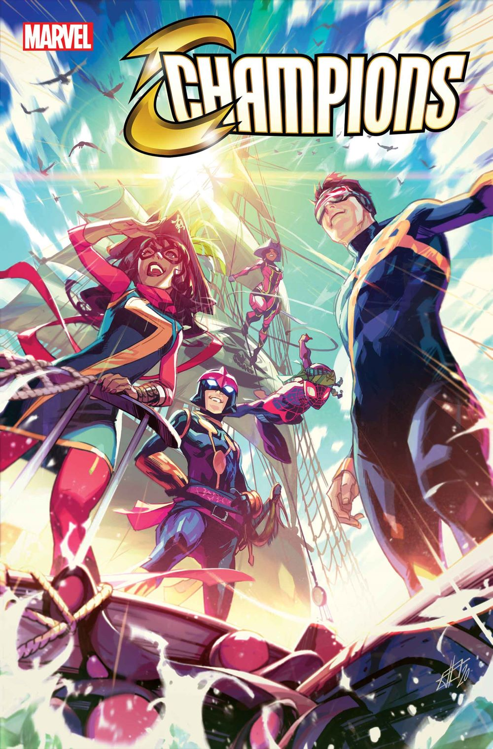 CHAMP2020004_Cov Marvel Comics January 2021 Solicitations