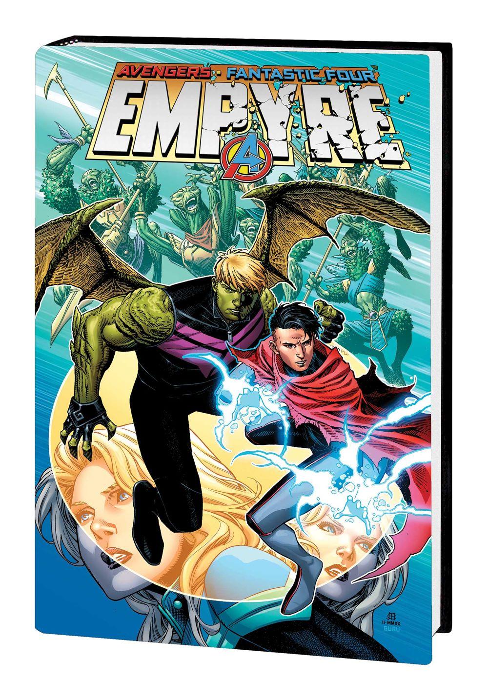 EMPYRE_OMNIBUS_HC_VAR Marvel Comics January 2021 Solicitations