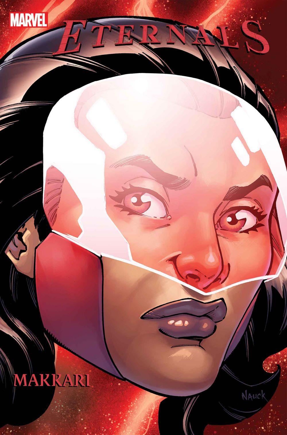 ETRNLS2020003_NAUCK_makkari Marvel Comics January 2021 Solicitations