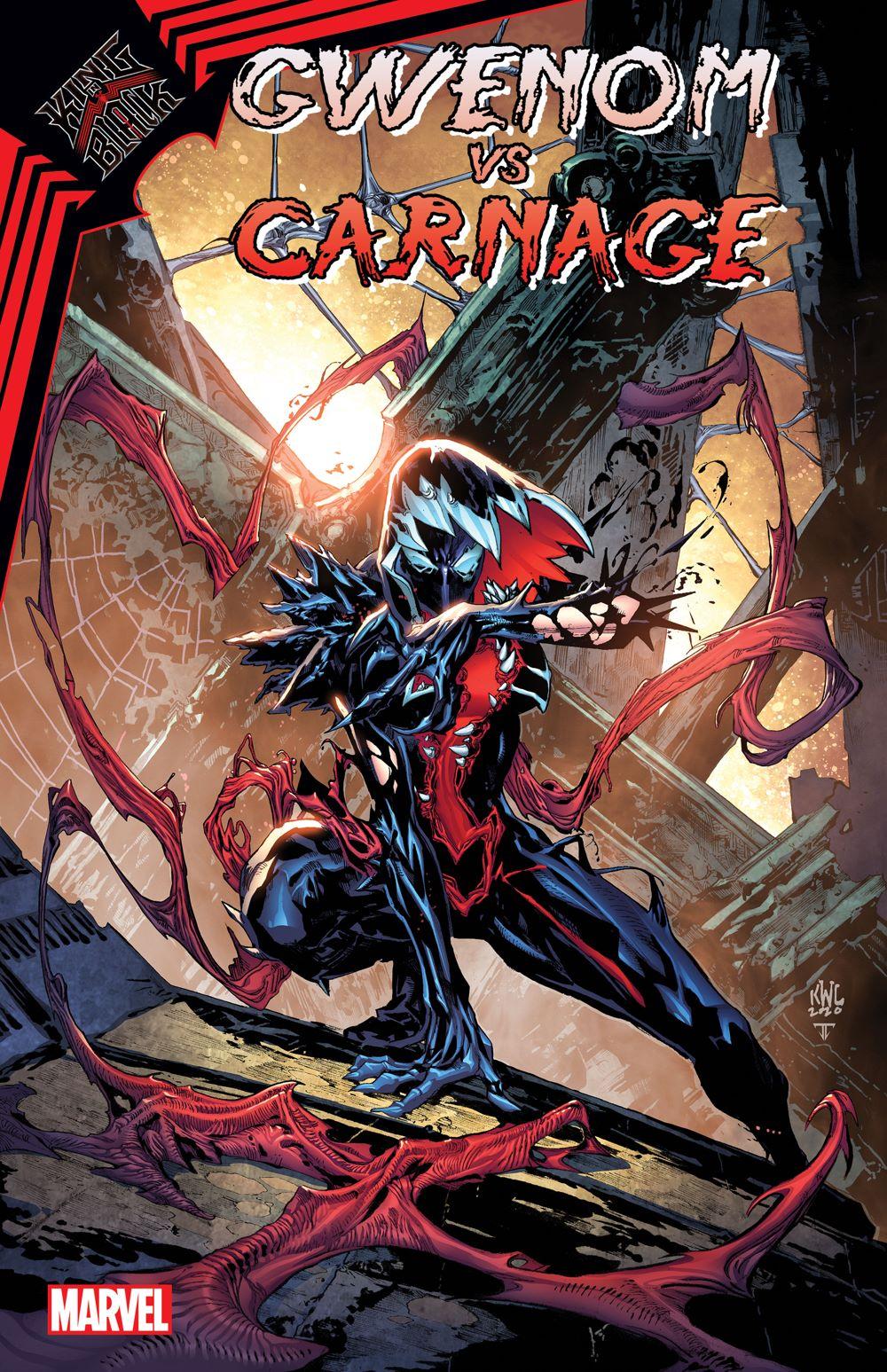 GWENOMVSCARN2020001_cov-5 Marvel Comics January 2021 Solicitations