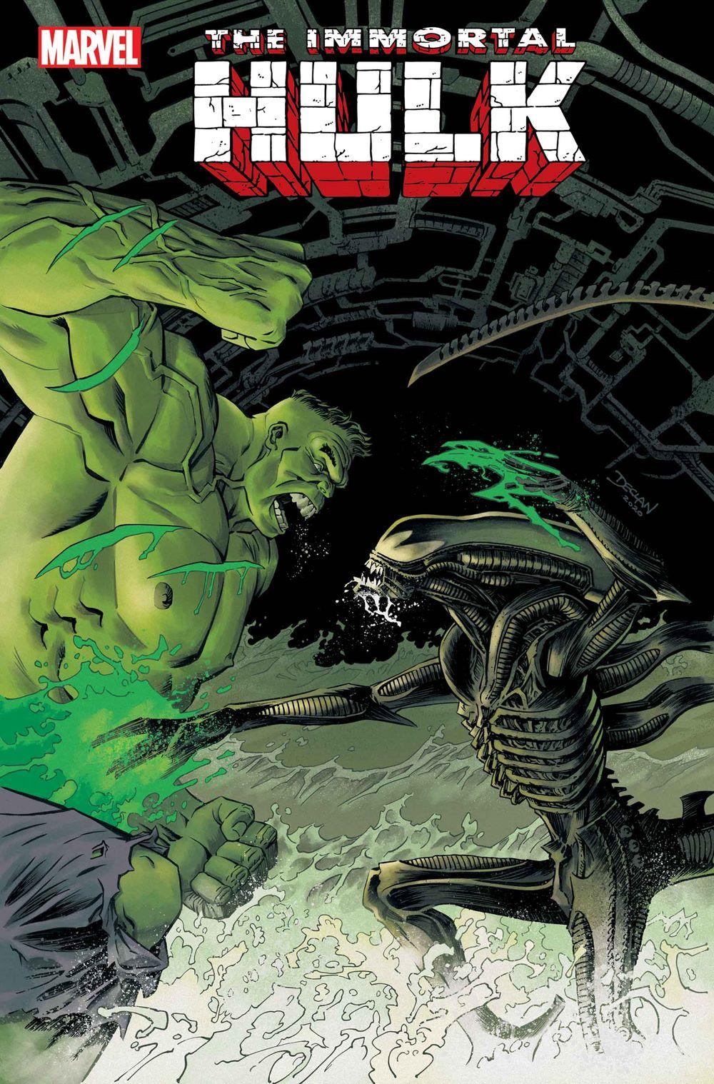 HULK2018043_ShalveyVar Marvel Comics January 2021 Solicitations
