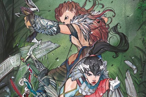 HZD_4_A ComicList Previews: HORIZON ZERO DAWN #4