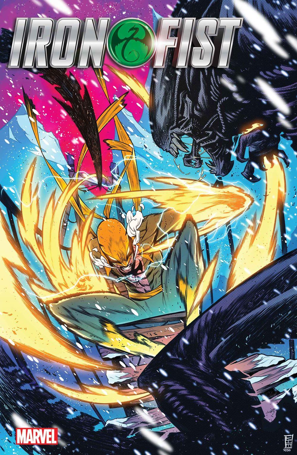IRONFISTHOD2021001_JacintoVar Marvel Comics January 2021 Solicitations