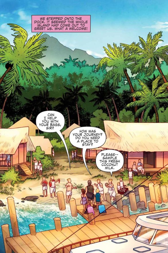 JustBeyond_WelcomeBeastIsland_SC_PRESS_13 ComicList Previews: JUST BEYOND WELCOME TO BEAST ISLAND GN
