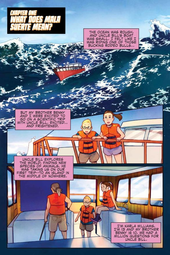 JustBeyond_WelcomeBeastIsland_SC_PRESS_9 ComicList Previews: JUST BEYOND WELCOME TO BEAST ISLAND GN