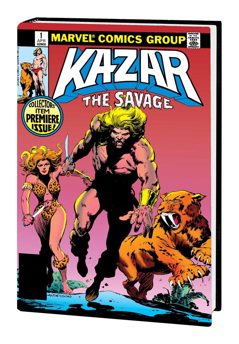 KAZAR_OMNIBUS_HC Marvel Comics January 2021 Solicitations