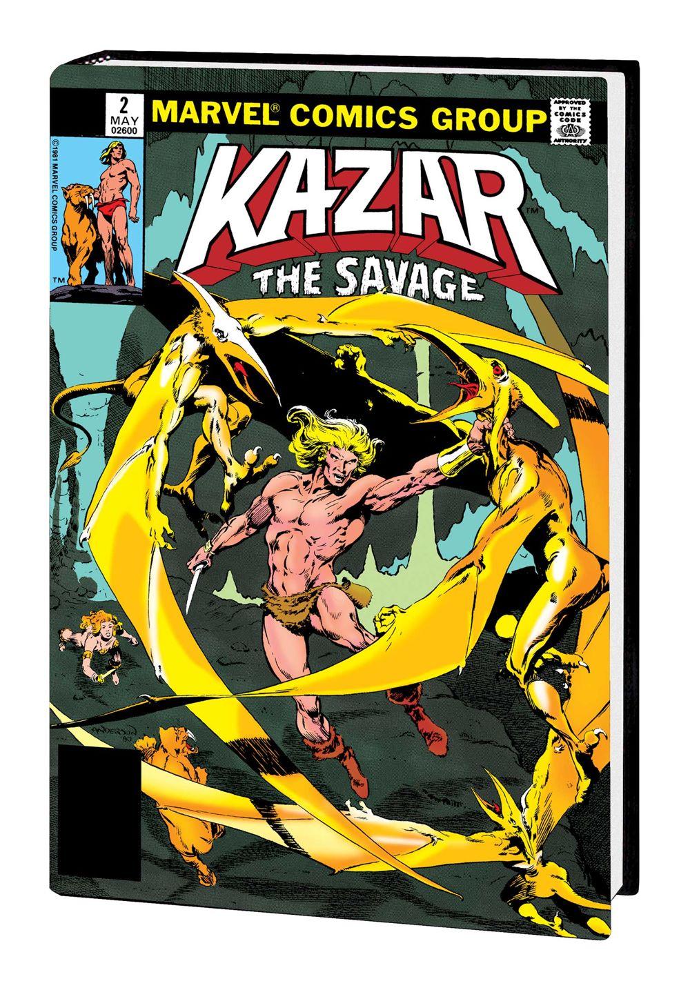 KAZAR_OMNIBUS_HC_DM Marvel Comics January 2021 Solicitations