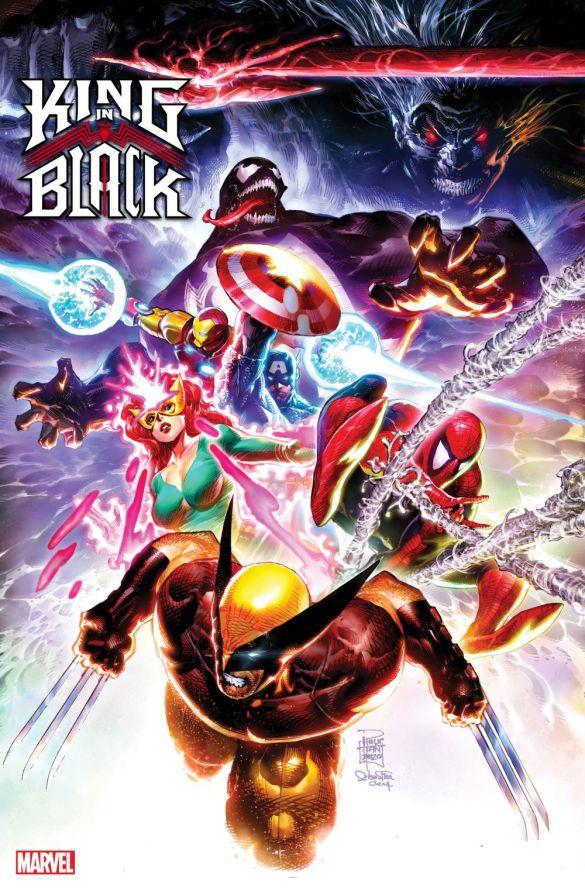 KINGINBLACK2020001_TAN_DC17 Marvel reveals variant covers for KING IN BLACK #1