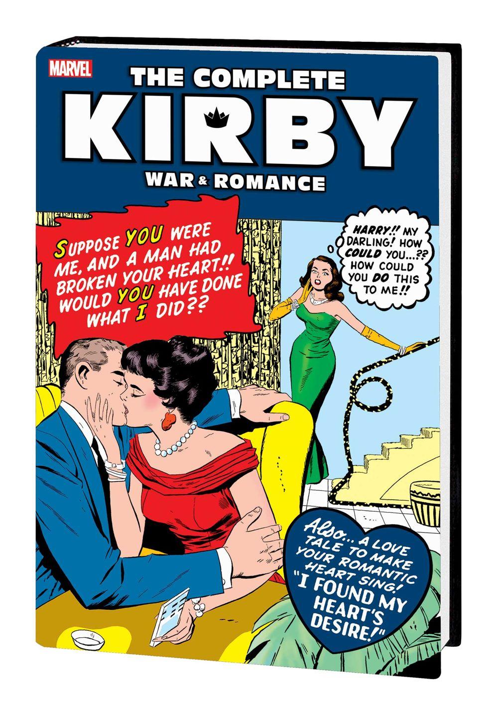 KIRBYLOVEWAR_OMNIBUS_HC_B Marvel Comics January 2021 Solicitations