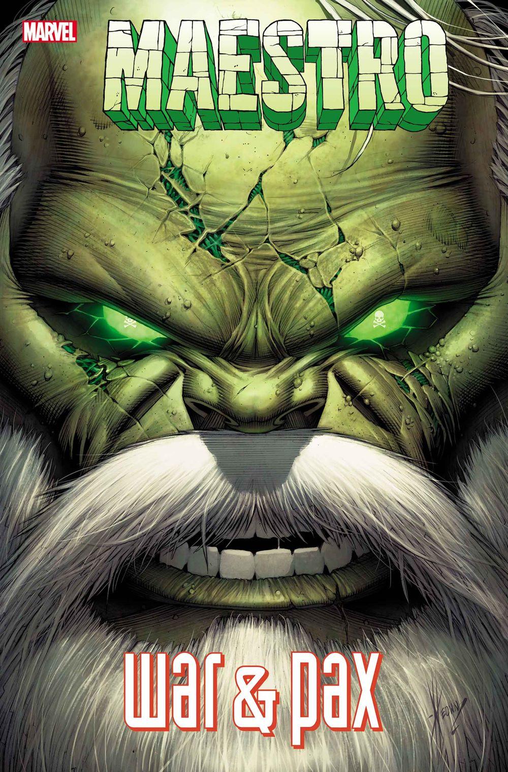 MAESTROWAP2021001_cvr Marvel Comics January 2021 Solicitations