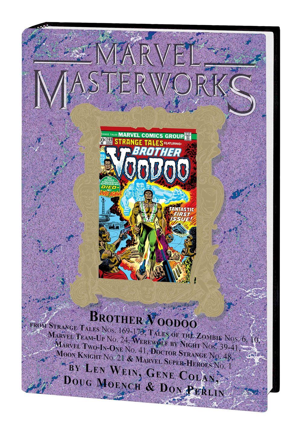 MMBROVOOD001HCvar_solicit Marvel Comics January 2021 Solicitations