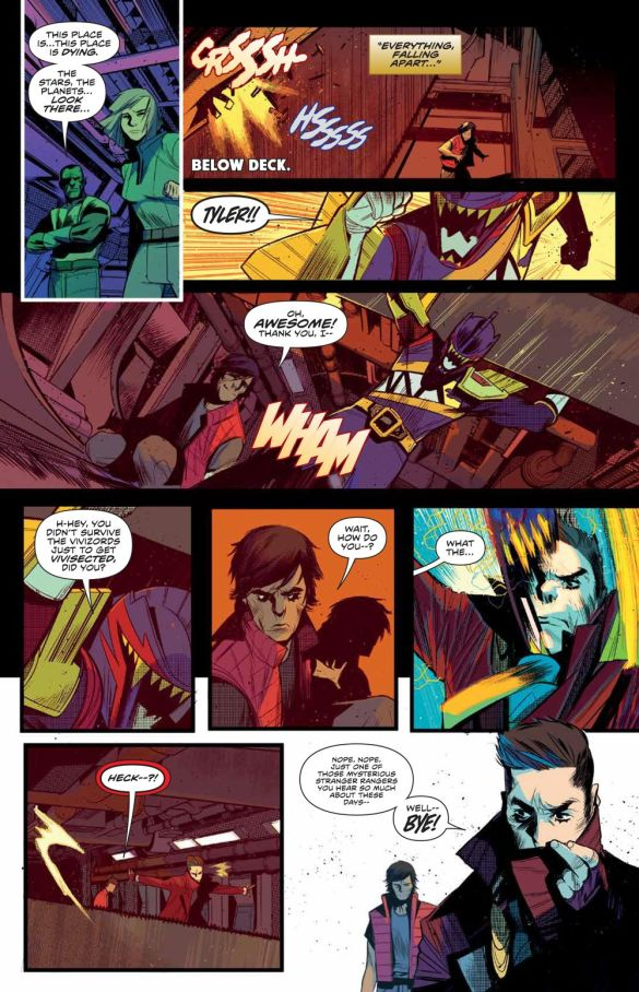 MMPR_BeyondGrid_Deluxe_HC_PRESS_16 ComicList Previews: MIGHTY MORPHIN POWER RANGERS BEYOND THE GRID DELUXE EDITION HC