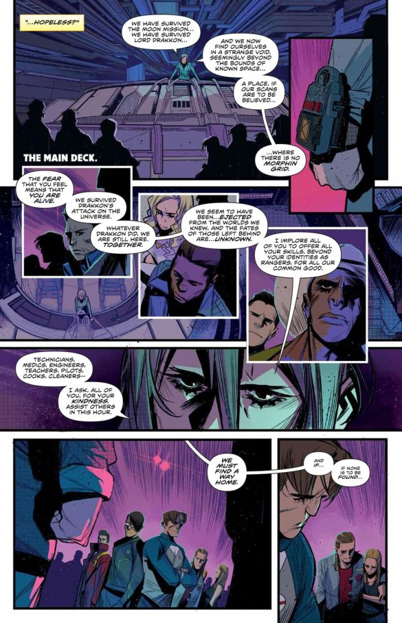 MMPR_BeyondGrid_Deluxe_HC_PRESS_19 ComicList Previews: MIGHTY MORPHIN POWER RANGERS BEYOND THE GRID DELUXE EDITION HC