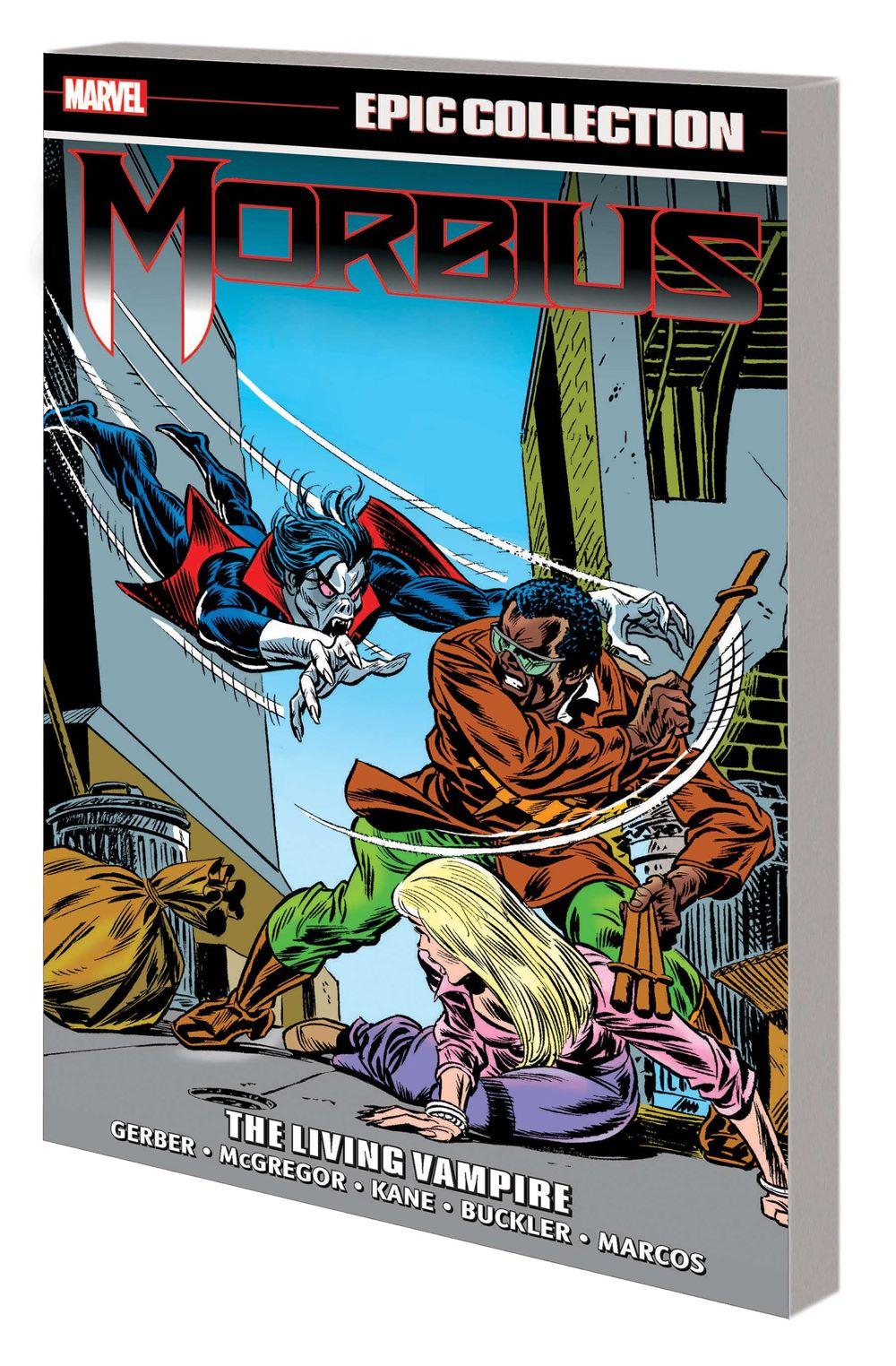 MORBIUSEPICV01_TPB Marvel Comics January 2021 Solicitations