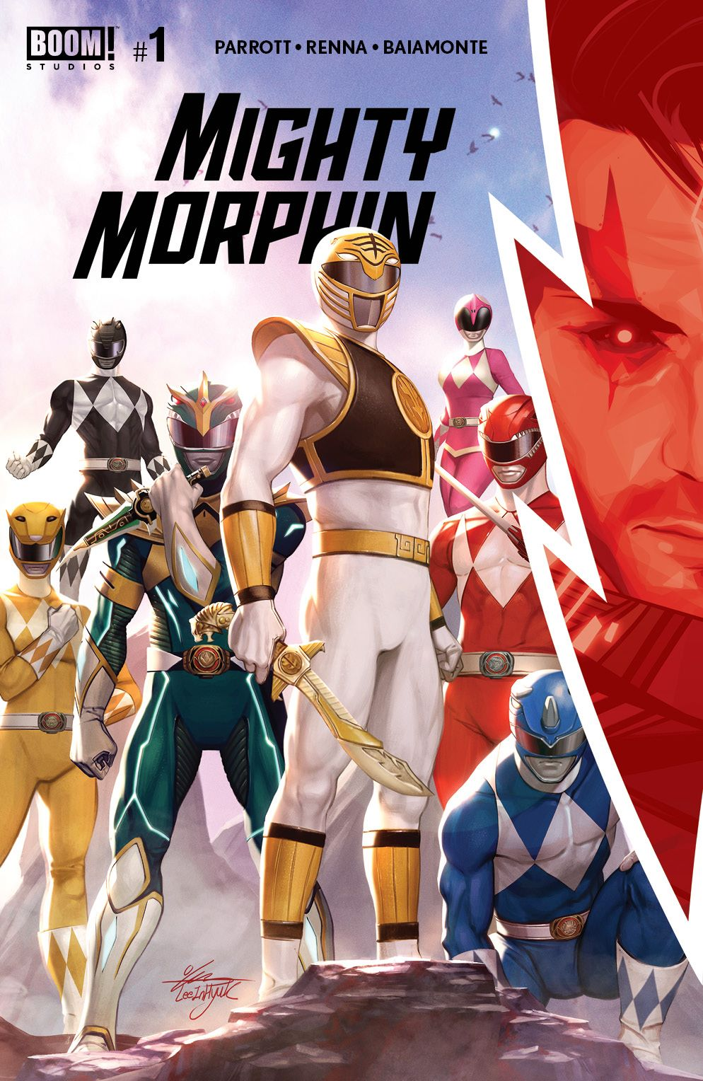 MightyMorphin_001_Cover_A_Main ComicList Previews: MIGHTY MORPHIN #1