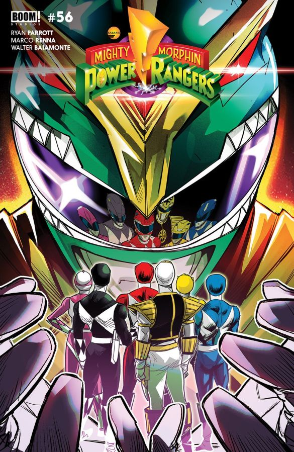 MightyMorphin_001_Cover_B_Legacy ComicList Previews: MIGHTY MORPHIN #1
