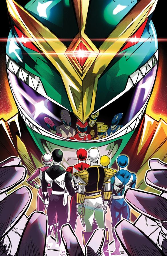 MightyMorphin_001_Cover_G_Variant ComicList Previews: MIGHTY MORPHIN #1