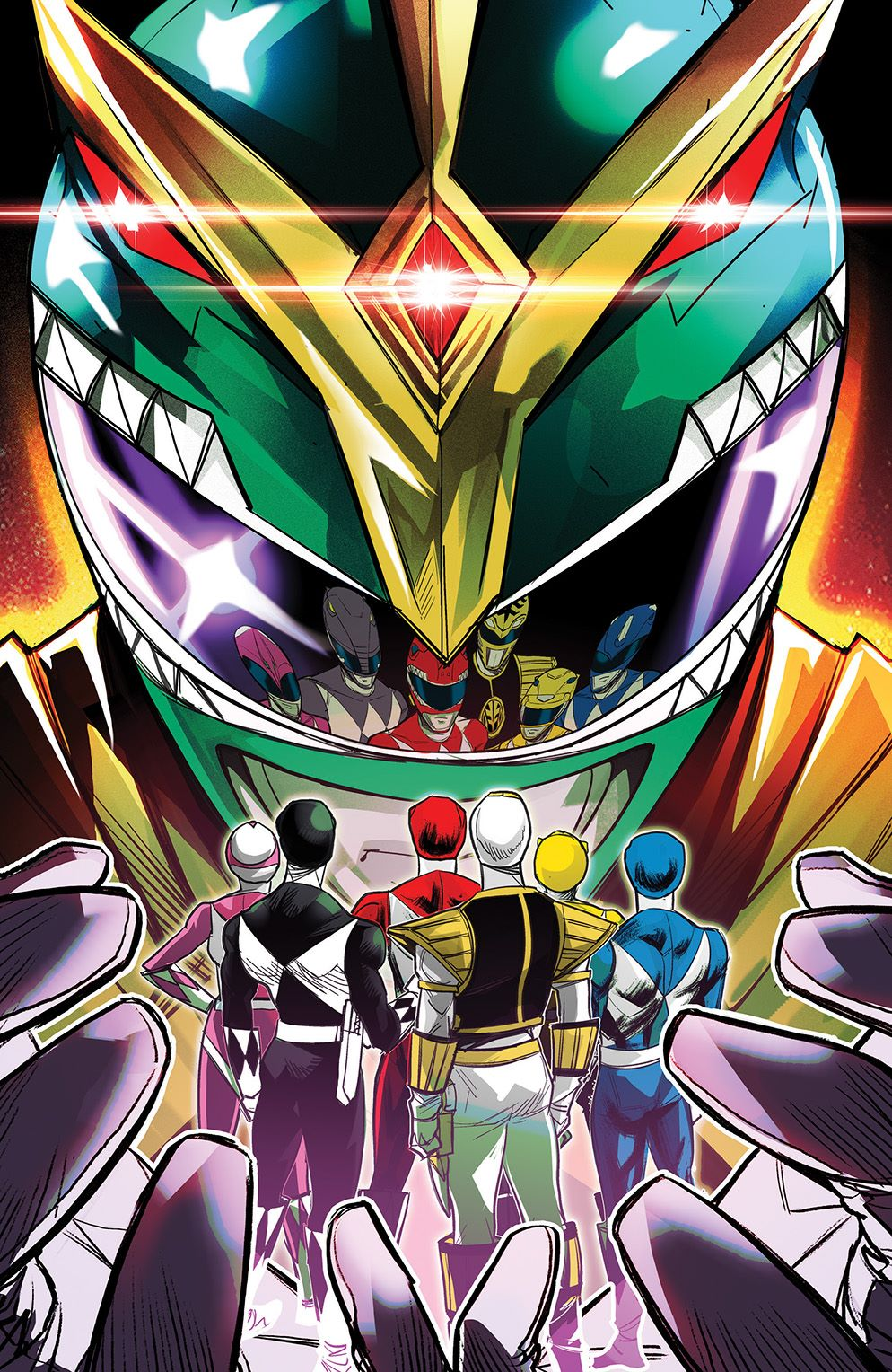 MightyMorphin_001_Cover_G_Variant ComicList: BOOM! Studios New Releases for 11/04/2020