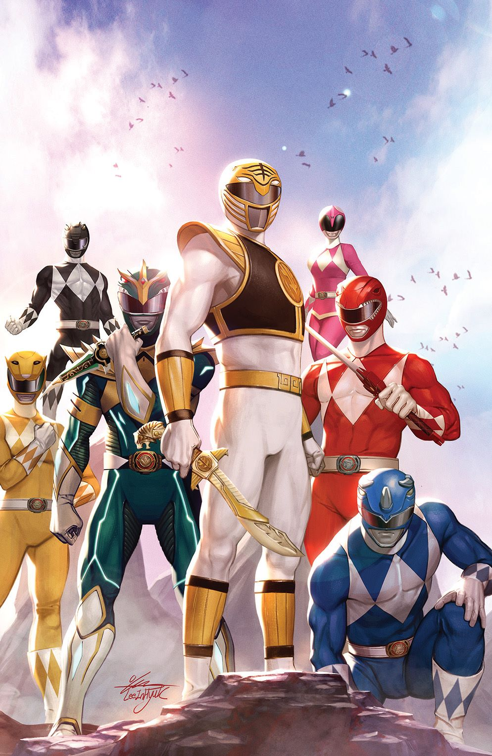 MightyMorphin_001_Cover_H_Variant ComicList: BOOM! Studios New Releases for 11/04/2020