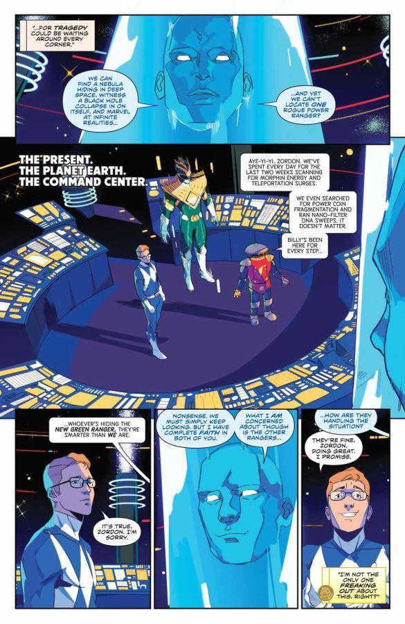 MightyMorphin_001_PRESS_7 ComicList Previews: MIGHTY MORPHIN #1