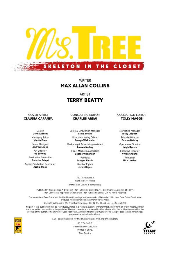 Ms_Tree_Skeletons-info-2 ComicList Previews: MS. TREE VOLUME 2 SKELETON IN THE CLOSET TP