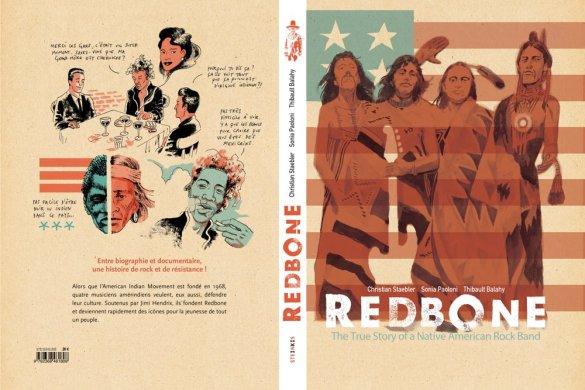 REDBONE_COVER_US-3 ComicList Previews: REDBONE LA VERDADERA HISTORIA DE UNA BANDA DE ROCK NATIVA AMERICANA HC