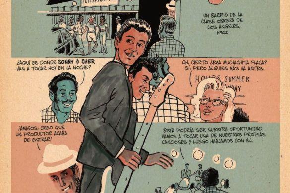 Redbone_Spanish_pr-3 ComicList Previews: REDBONE LA VERDADERA HISTORIA DE UNA BANDA DE ROCK NATIVA AMERICANA HC