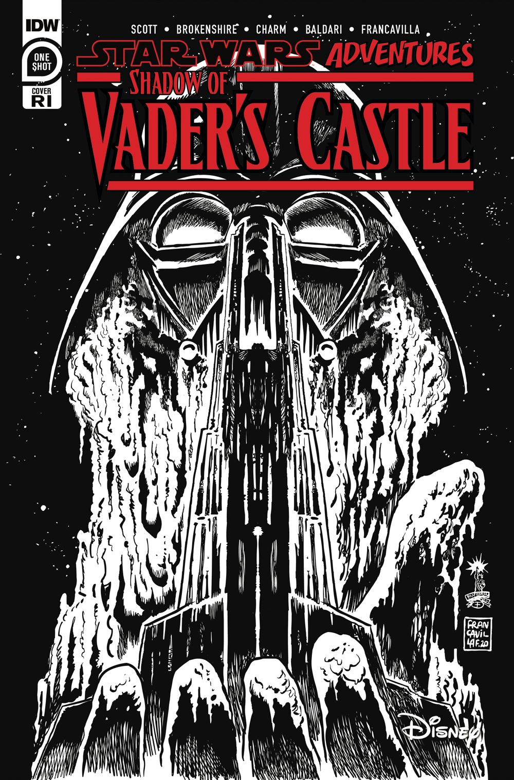 SWShadowofVader-Cover-RI ComicList Previews: STAR WARS ADVENTURES SHADOW OF VADER'S CASTLE #1