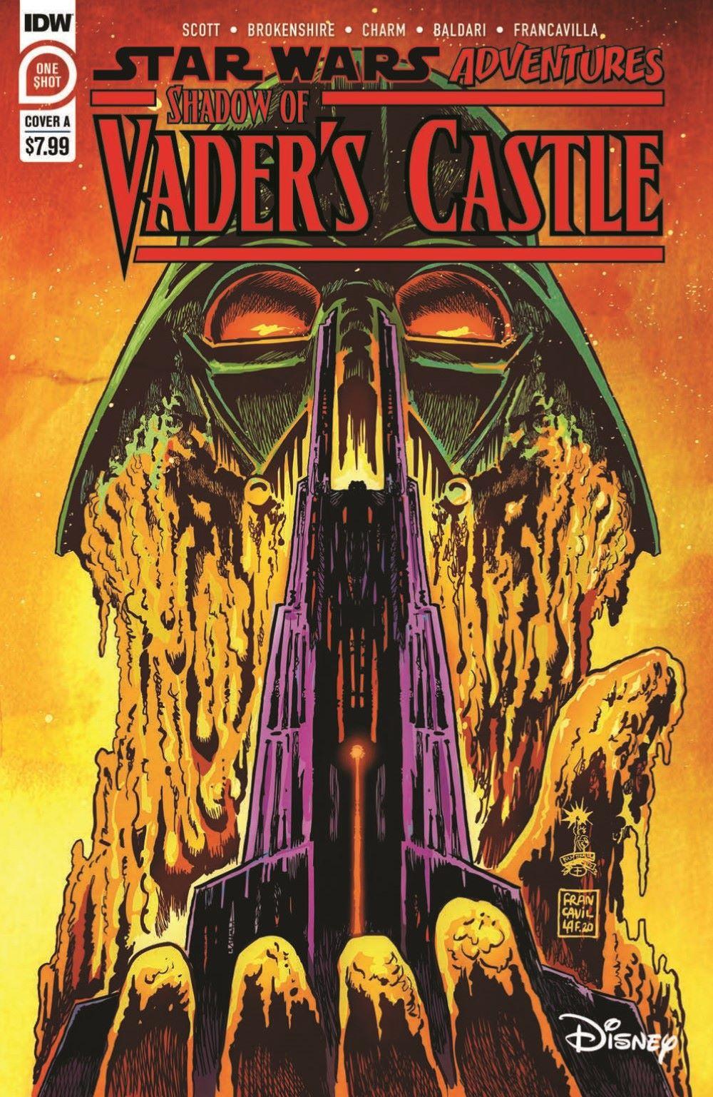 SW_ShadowOfVadersCastle_01-pr-1 ComicList Previews: STAR WARS ADVENTURES SHADOW OF VADER'S CASTLE #1