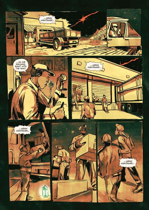 SacrificeDarkness_HC_PRESS_19 ComicList Previews: THE SACRIFICE OF DARKNESS HC
