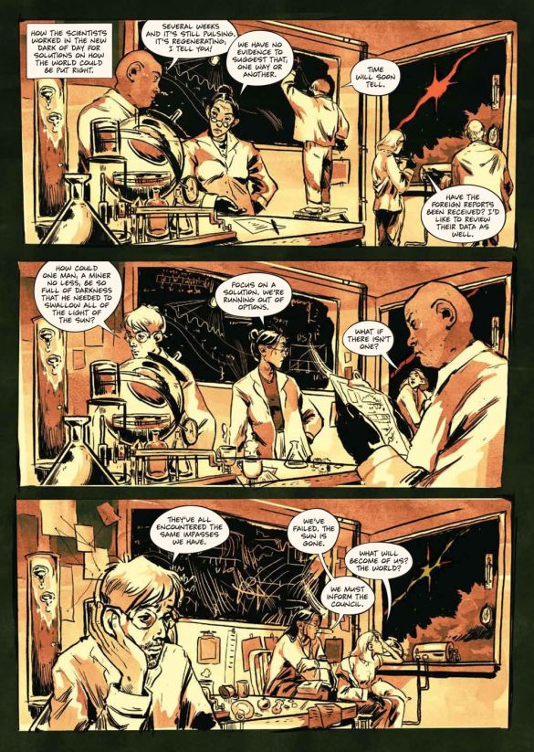 SacrificeDarkness_HC_PRESS_20 ComicList Previews: THE SACRIFICE OF DARKNESS HC