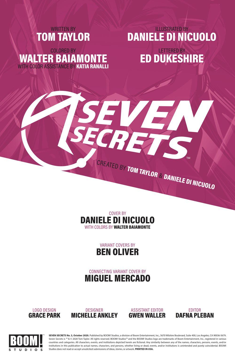 SevenSecrets_003_PRESS_2 ComicList Previews: SEVEN SECRETS #3