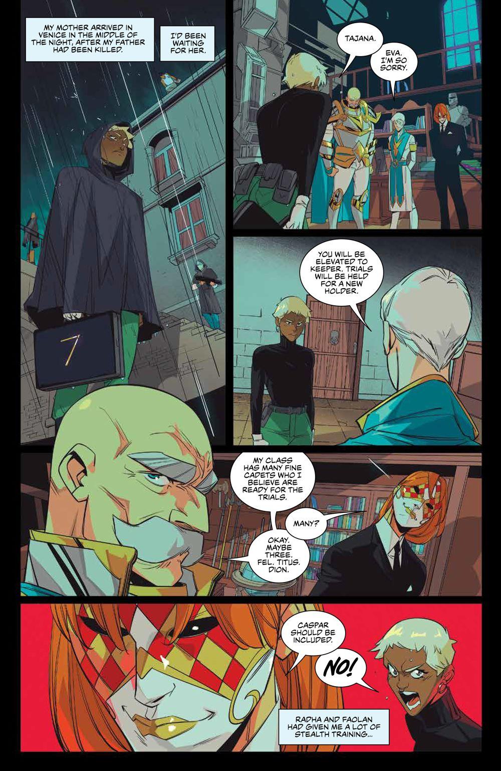 SevenSecrets_003_PRESS_7 ComicList Previews: SEVEN SECRETS #3