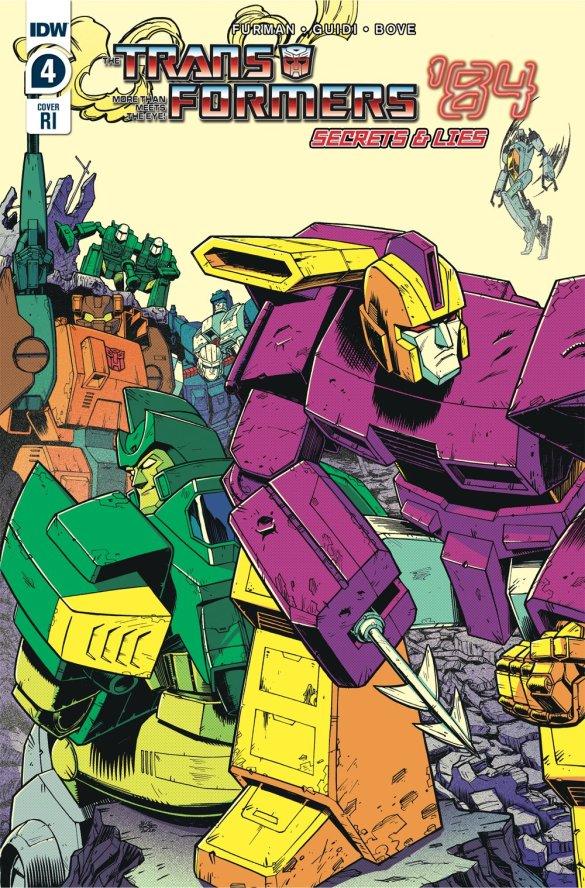 TF84_04_CVR-RI ComicList Previews: TRANSFORMERS '84 SECRETS AND LIES #4