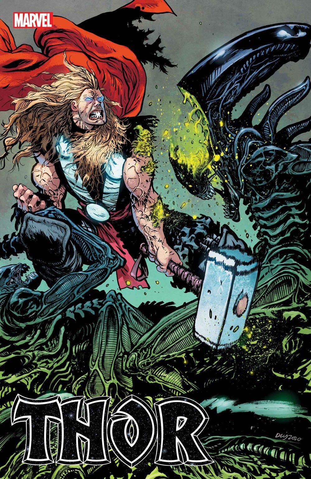 THOR2020011_Alien_var Marvel Comics January 2021 Solicitations