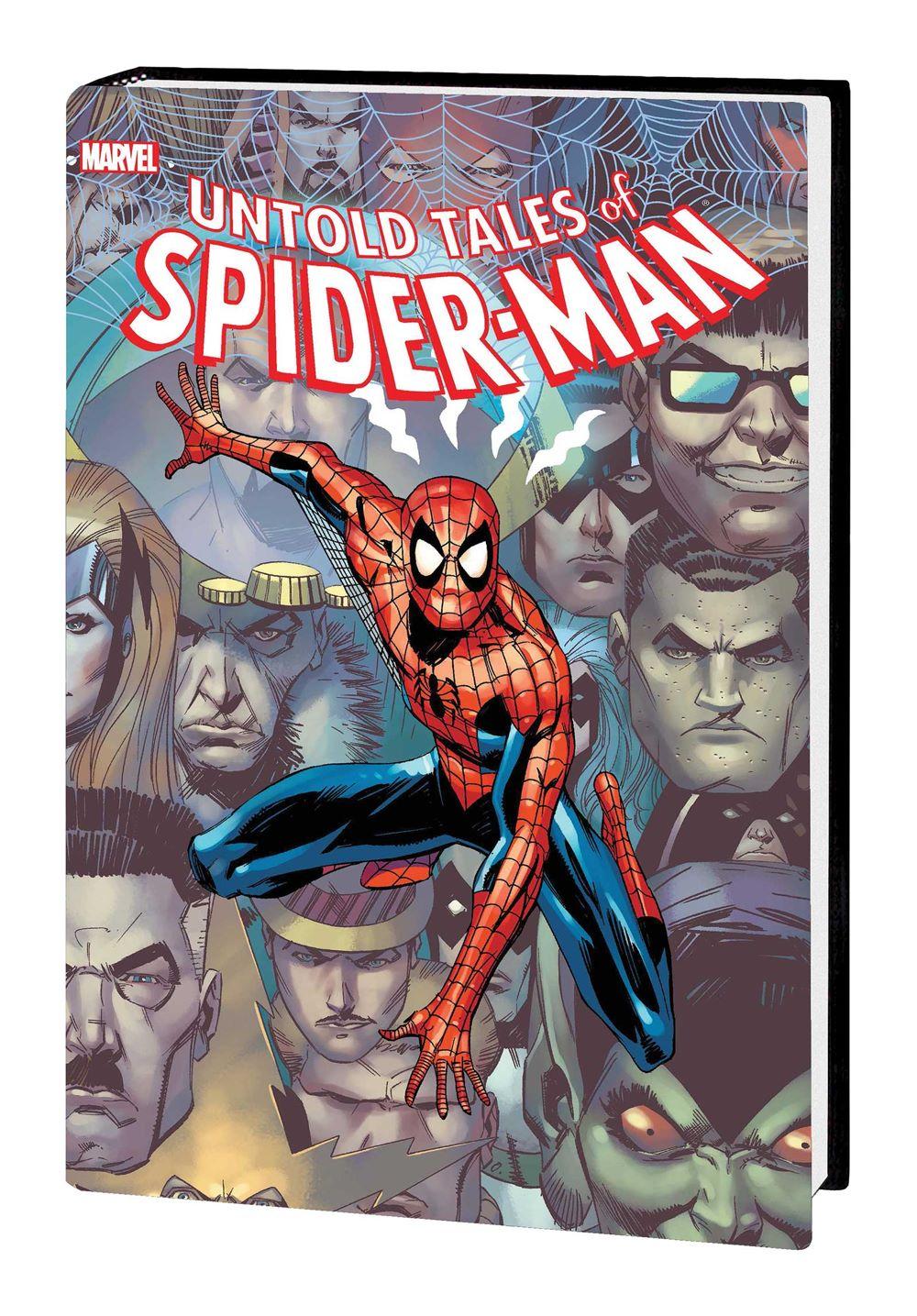 UNTOLD_SM_OMNIBUS_HC_DM Marvel Comics January 2021 Solicitations