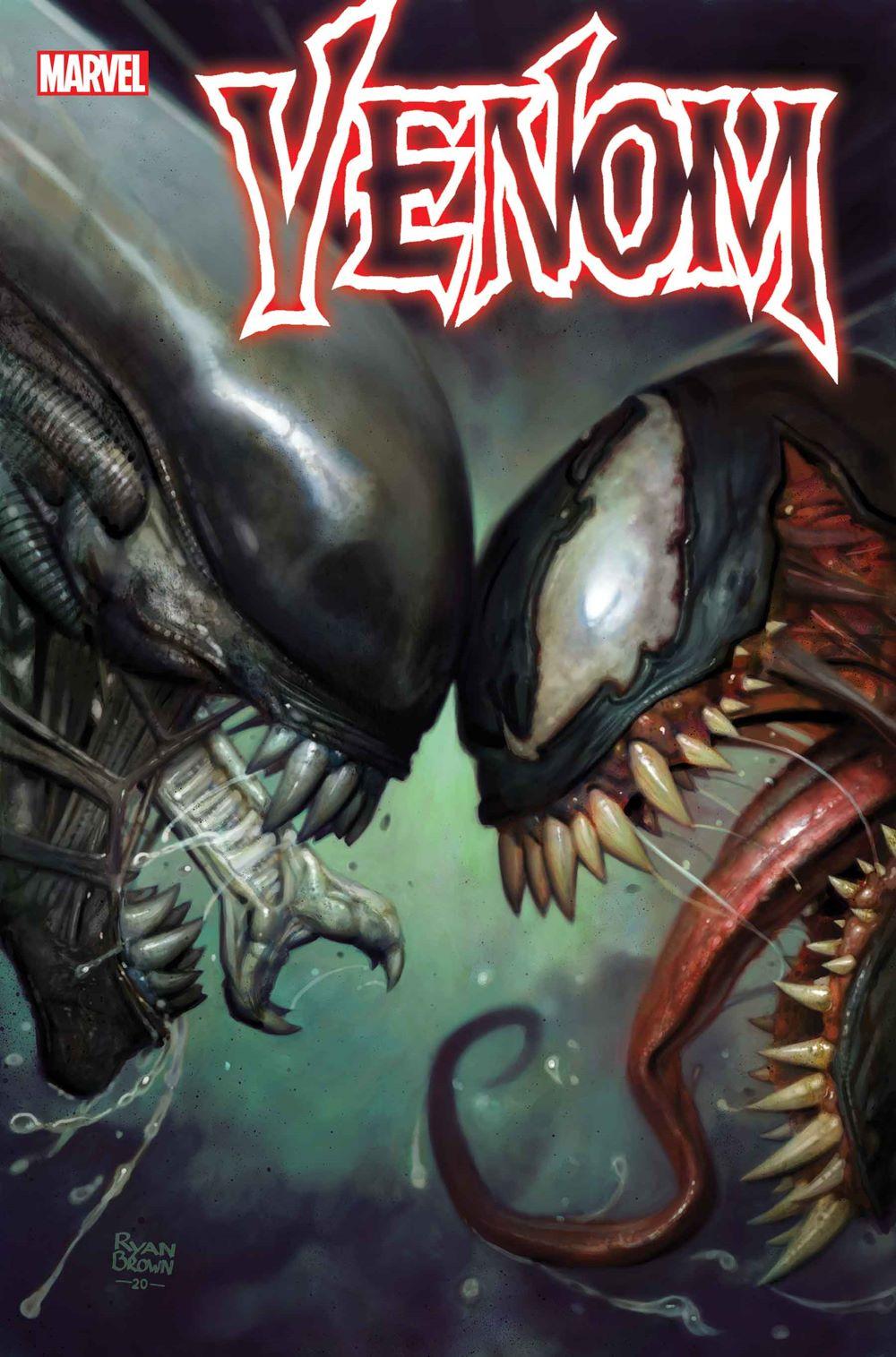 VENOM2018032_BrownVar Marvel Comics January 2021 Solicitations