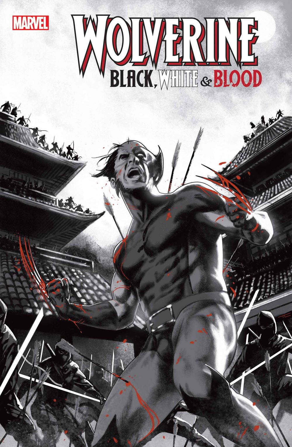 WOLVBLKWHBL2020003-Clarke_Var Marvel Comics January 2021 Solicitations