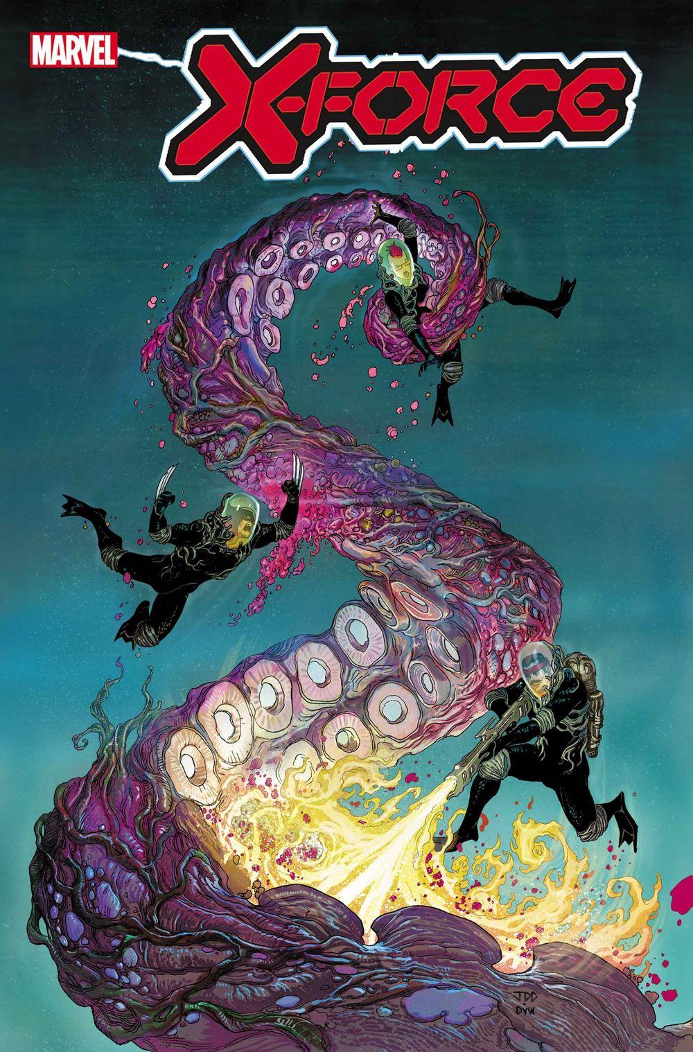 XFORCE016Cover-Color-DW Marvel Comics January 2021 Solicitations