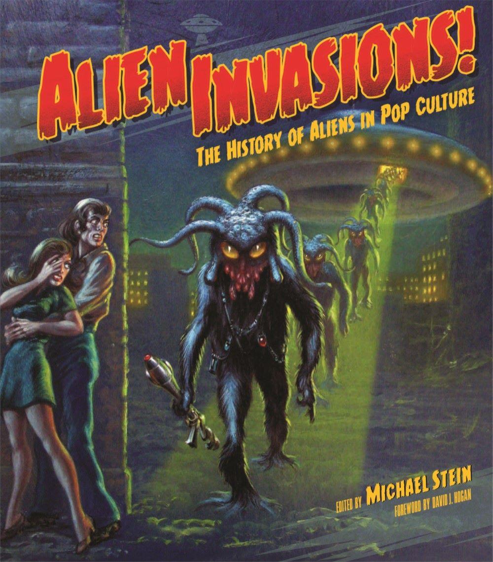AlienInvasions-ELB11_UK_pr-1 ComicList Previews: ALIEN INVASIONS THE HISTORY OF ALIENS IN POP CULTURE HC