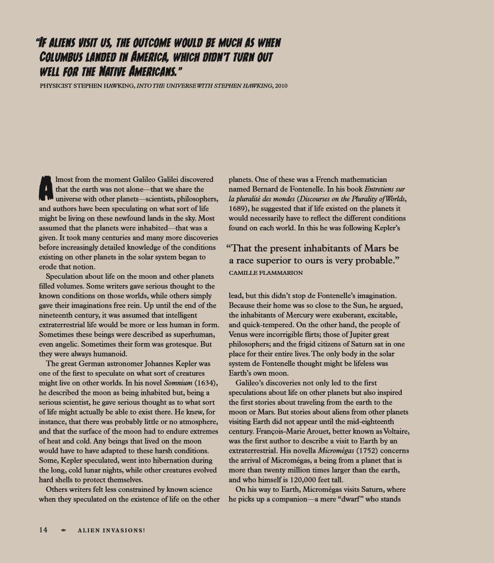 AlienInvasions-ELB11_UK_pr-5 ComicList Previews: ALIEN INVASIONS THE HISTORY OF ALIENS IN POP CULTURE HC