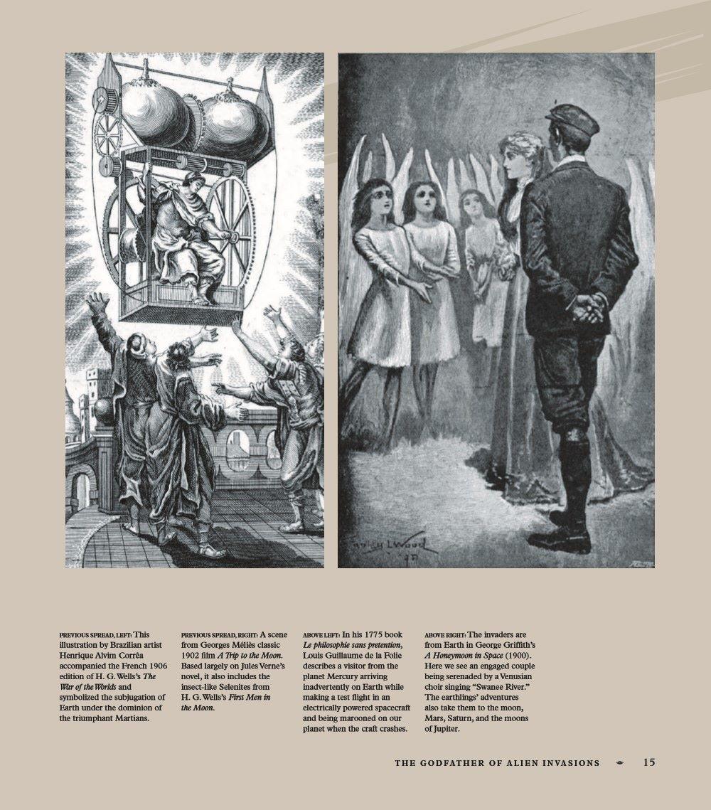 AlienInvasions-ELB11_UK_pr-6 ComicList Previews: ALIEN INVASIONS THE HISTORY OF ALIENS IN POP CULTURE HC