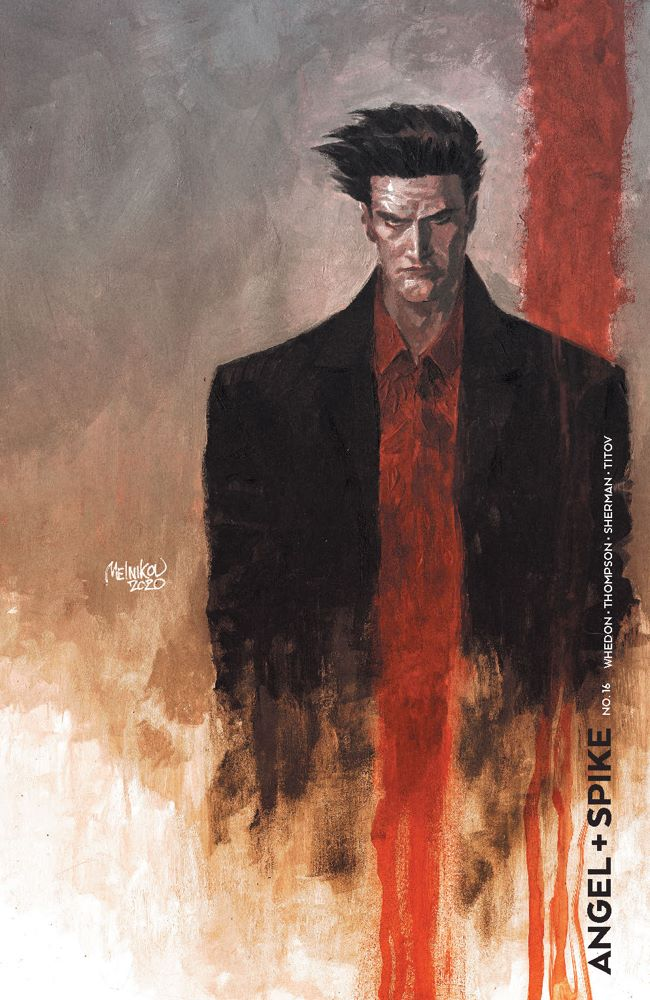 Angel_016_Cover_B_CharacterSpotlight ComicList Previews: ANGEL AND SPIKE #16