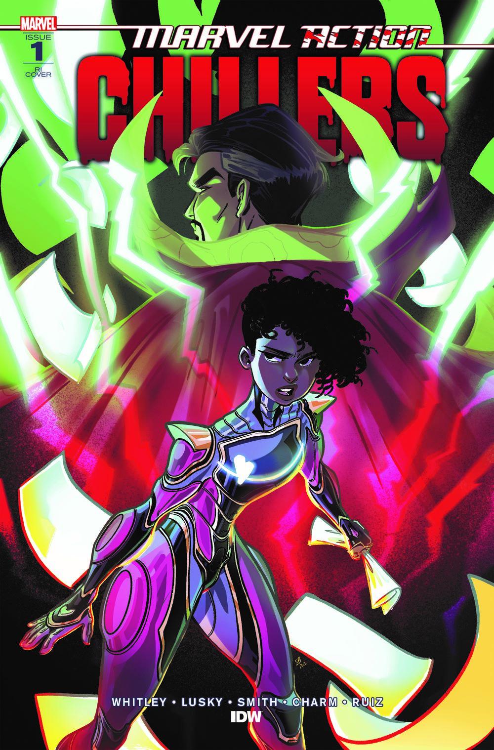 AvengersCHILLERS_01_CvrRI ComicList Previews: MARVEL ACTION CHILLERS #1