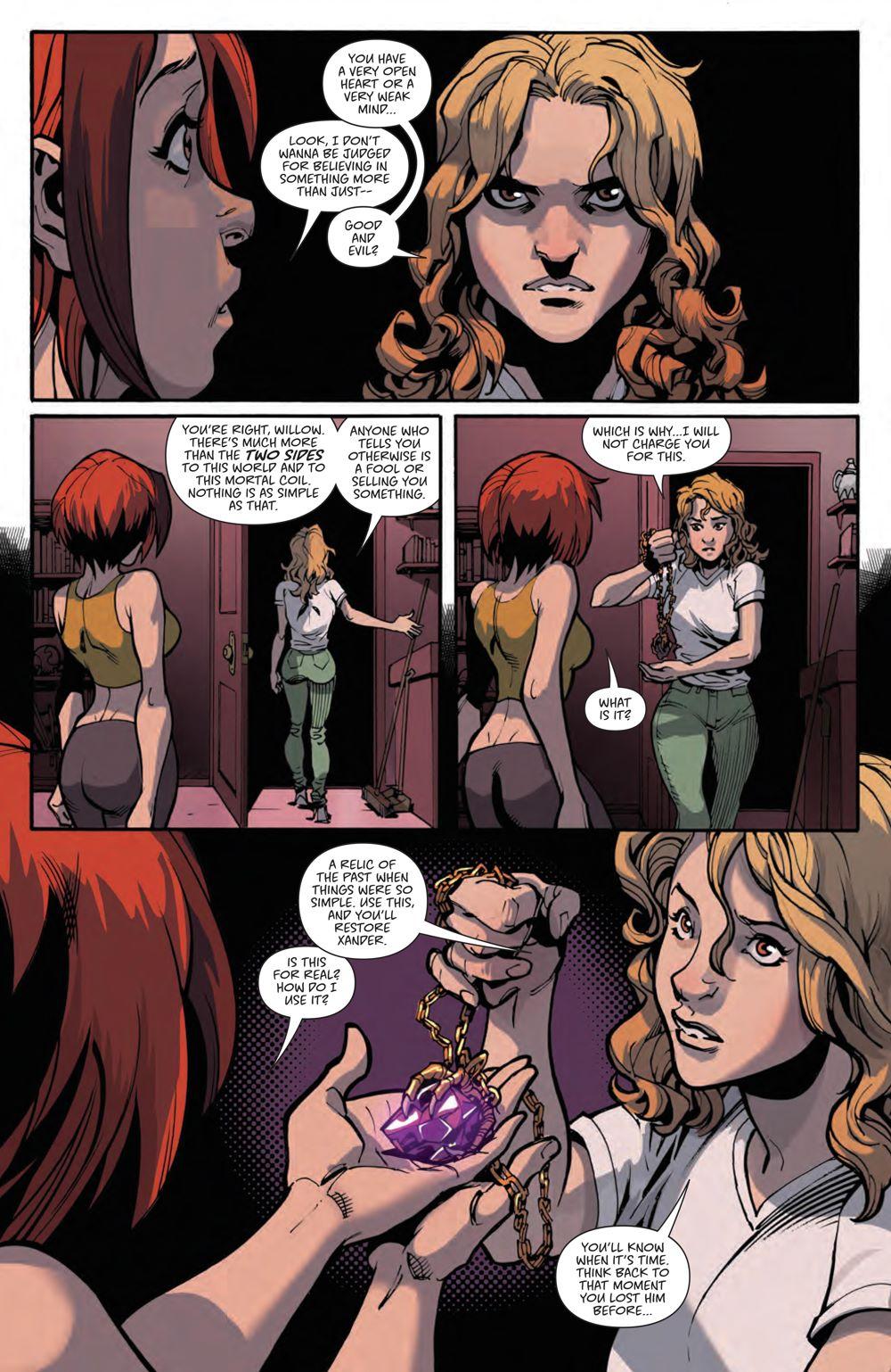 Buffy_020_PRESS_6 ComicList Previews: BUFFY THE VAMPIRE SLAYER #20