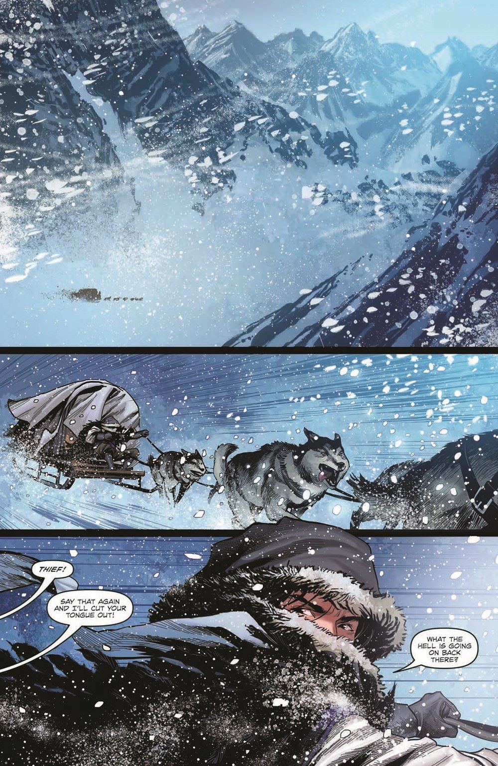 DD_ATSOTW01-pr-3 ComicList Previews: DUNGEONS AND DRAGONS AT THE SPINE OF THE WORLD #1 (OF 4)